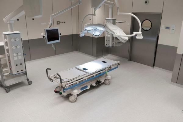 sala operacyjna po dezynfekcji w Białymstoku